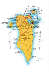 Map-Bahrain
