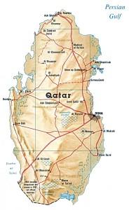 map of qatar bfa